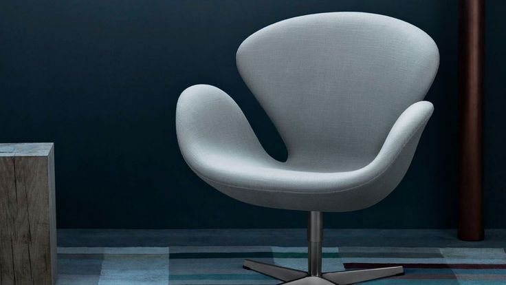 The Swan™ easy chair, fabric
