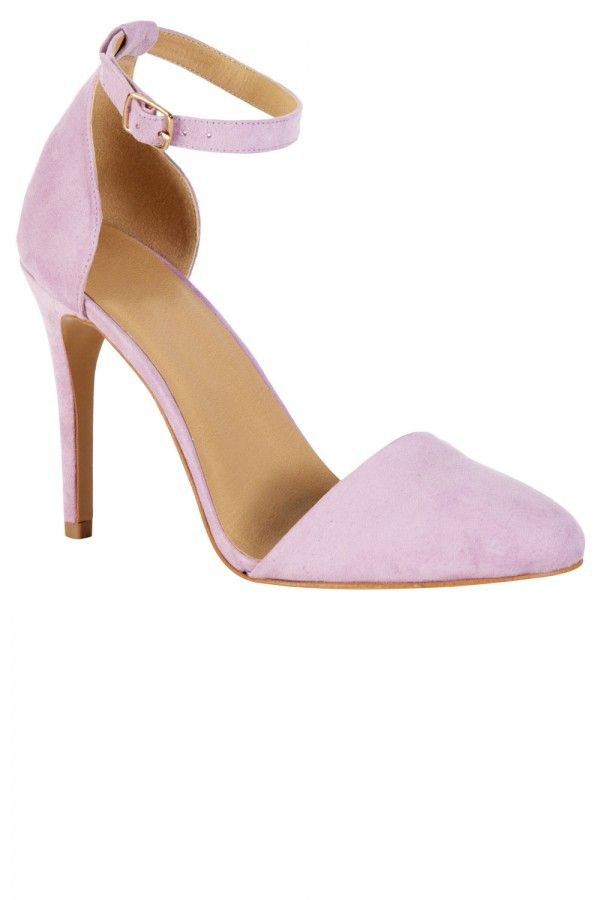 Primark // Lilac Almond Toe Court.