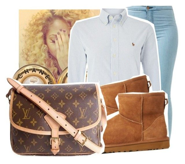 7/20/15 by xtaymaxlovesxmisfitx on Polyvore featuring polyvore, fashion, style, Polo Ralph Lauren, UGG Australia, Louis Vuitton and Chanel