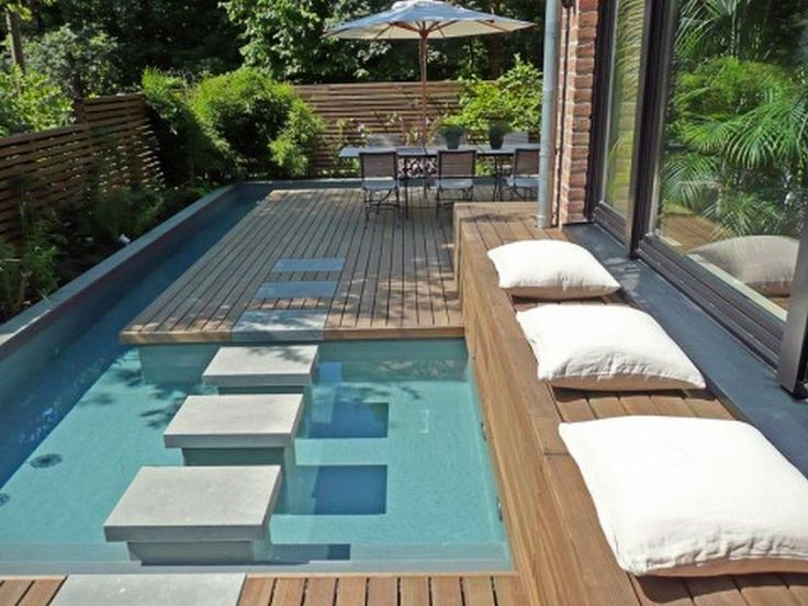15 Great Small Swimming Pools Ideas | Spool pool, Small backyard ...