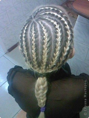 Прическа Плетение Плетение кос Волосы фото 13 braid