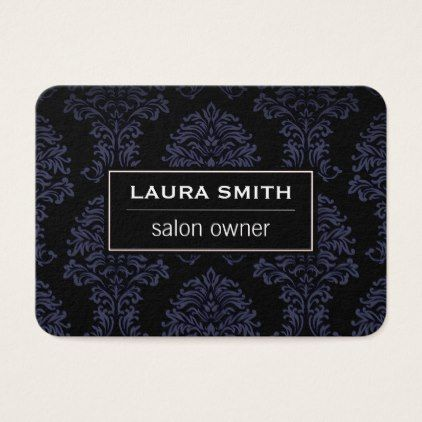 #makeupartist #businesscards - #Classic Damask pattern Business Card