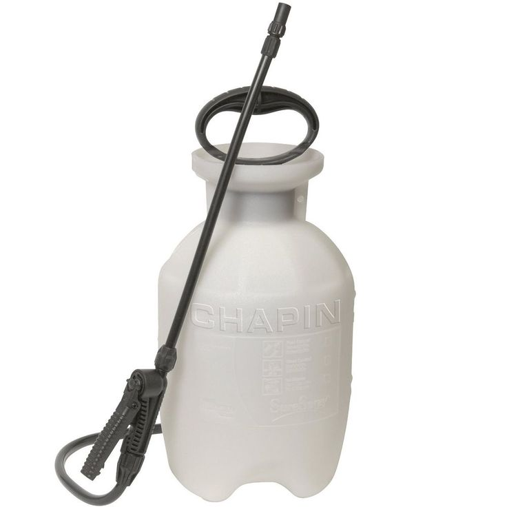 Garden Sprayer 1-Gallon Anti-Clog Filter Adjustable Nozzle & Comfortable Handle #Chapin