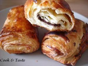 Petits pains au chocolat sans gluten - Cook & Taste #sansgluten