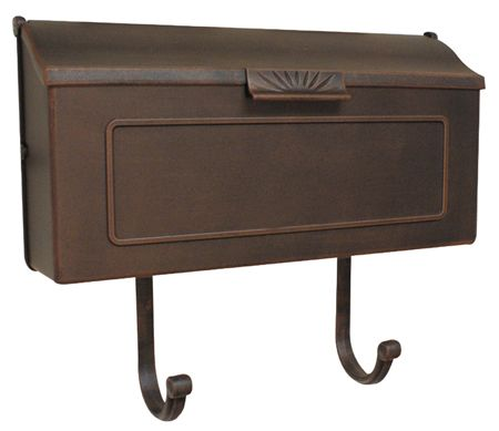 Special Lite Mailboxes | Horizon Horizontal Wall Mount Mailbox | Residential Mailbox