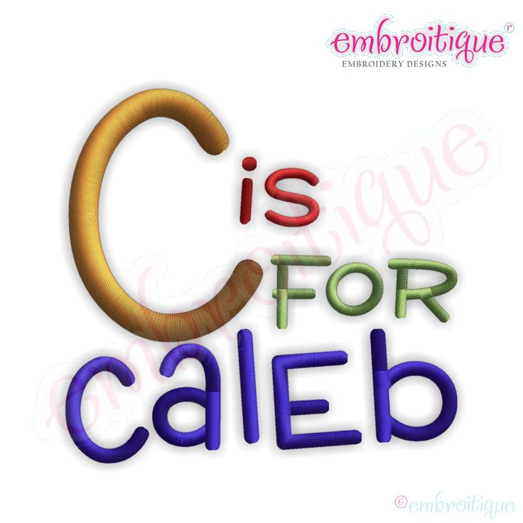 Monogram sets caleb font set on sale now at
