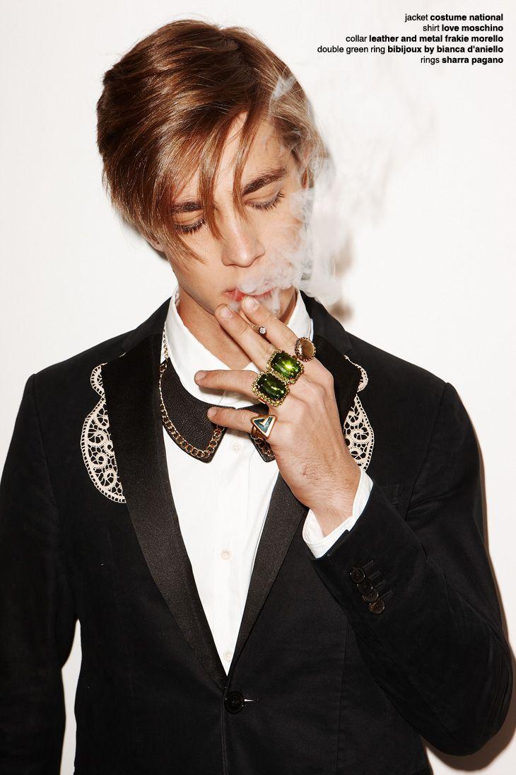 Pedro Bertolini by Federico Sorrentino for exclusive Male Model Scene Editorial