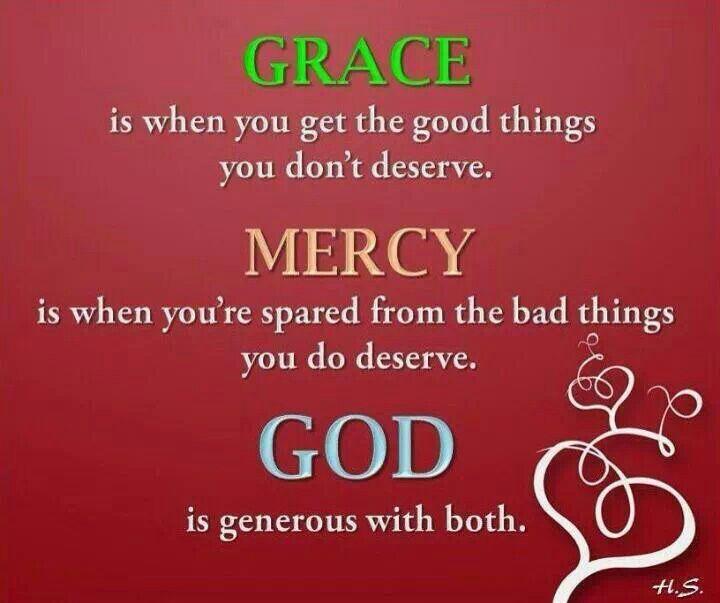 Gods Grace Quotes: God's Grace & Mercy