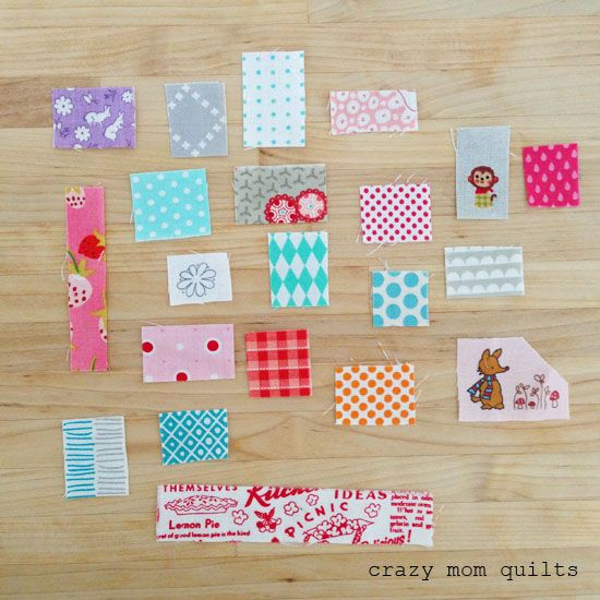 crazy mom quilts: my top 10 tips for successful scrap quilting