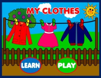 CLOTHES PPT GAME