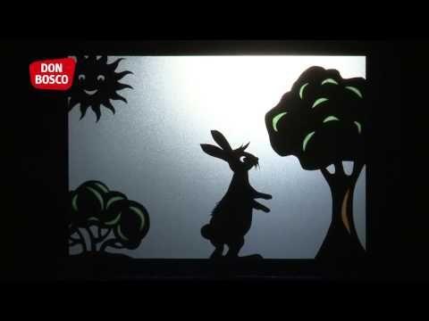 Hase und Igel: eine Aufführung im Schattentheater | Main-Navigation | Don Bosco Verlag