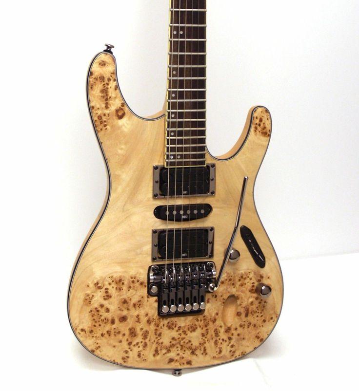 ibanez s series s770pb electric guitar poplar burl natural flat guitars for me pinterest. Black Bedroom Furniture Sets. Home Design Ideas