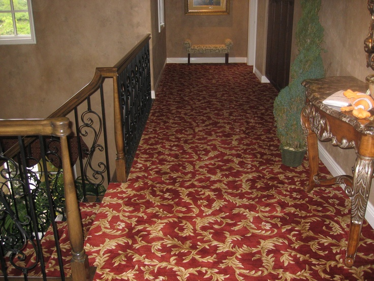 nourison ashton scroll installed wall to wall in a home in newport coast ca - Nourison Rugs