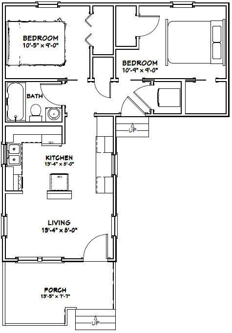 517 Best Images About Tiny House Blueprints On Pinterest