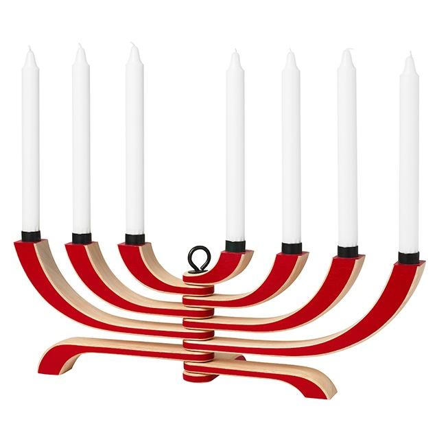 Nordic Candleholder 7 Arms - Red Design House Stockholm: Design Inspiration, Life Color July, Arms Red Design, Kitchen Decor, Design House, Jr S Life, Angel Jr S, Furniture Ideas, House Stockholm