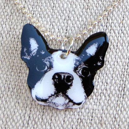 Shrinky dink necklace with diamond glaze finish - easily customizable