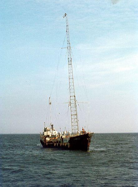 Radio Caroline: MV Mi Amigo North Sea 1974