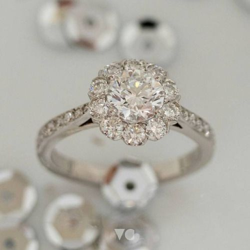 Take centre stage💍  Like a ballerina poised for the perfect pirouette, all eyes will be on the exquisite composition of this 1 carat diamond cluster ring. Expertly designed and crafted in store.  Find out more about this showstopper ring via the link...