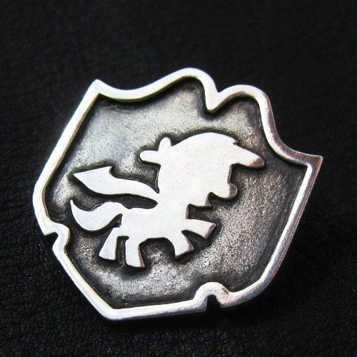 Silver Cutie Mark Crusaders brooch by TheSunkenCity on Etsy