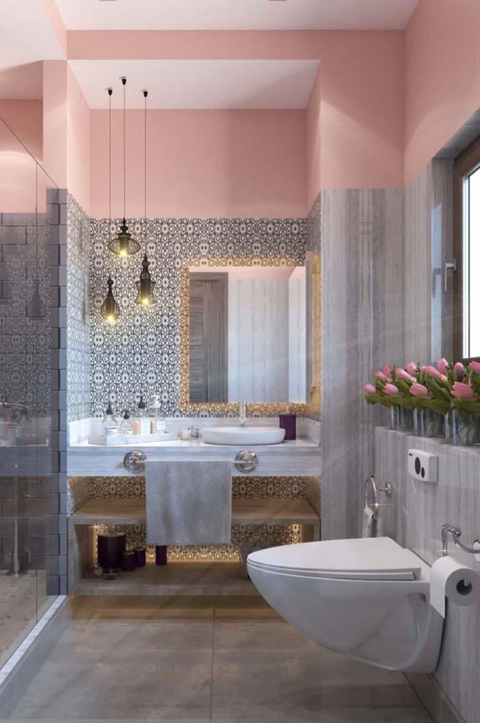 Frauen Badezimmer Unglaubliche Und Kreative Dekor Ideen