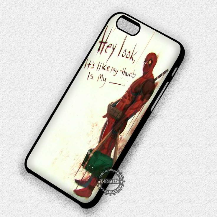 Hey Look Marvel Deadpool - iPhone 7 6 5 SE Cases & Covers
