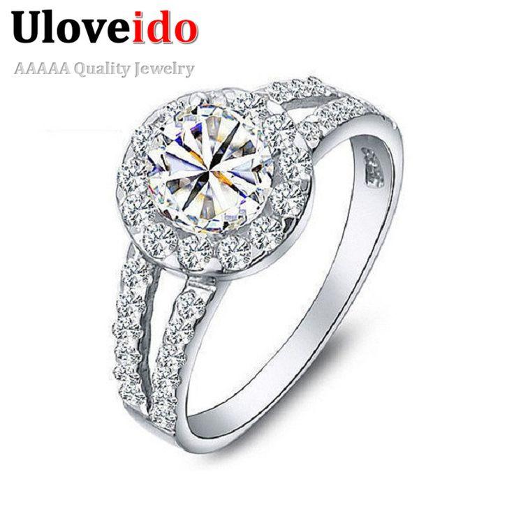 15%オフのファッション結婚指輪シルバーメッキギフト用女性チャームリングレインボーミスティックヴィンテージジュエリー宝石類uloveido j510