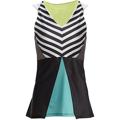 Moxie Cycling Summer Peplum Jersey  Womens Watercolor M * Want to know more, click on the image.