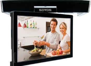 Visual   Under Cabinet Flip Down Kitchen Tv
