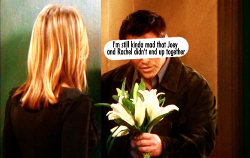 I prefer Rachel with Ross so I'm glad that this didn't happen