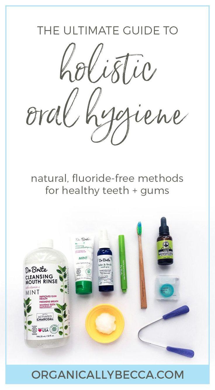 Holistic natural oral hygiene fluoridefree organic