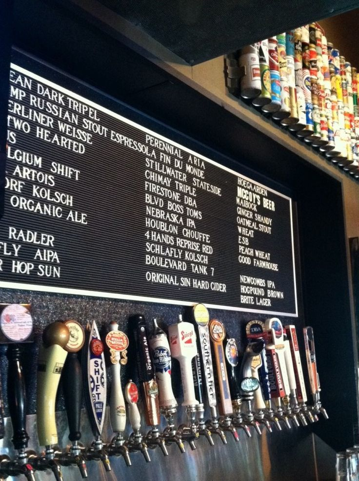 Craft beer taps – Can you spot your favorite?