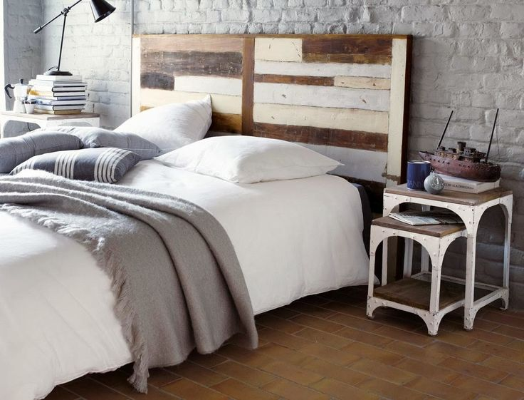 Letto industrial white