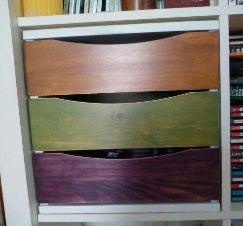 17 best images about muebles reciclados on pinterest - Pintura para muebles de madera ...