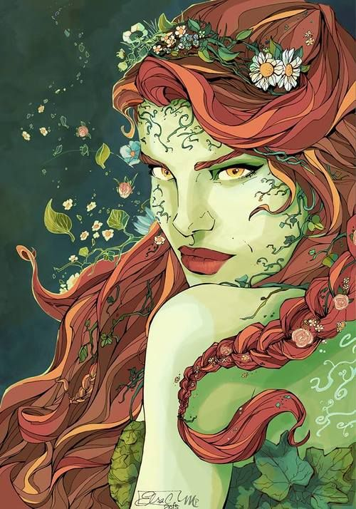 Poison Ivy by Elsa Charretier and colours by Magali Paillat