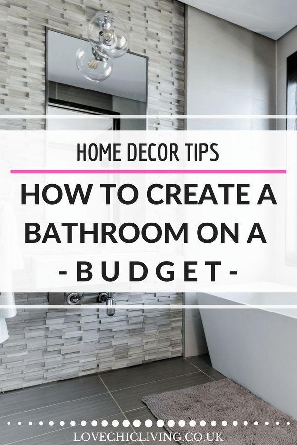 How To Create A Beautiful Bathroom On A Budget Budget Bathroom