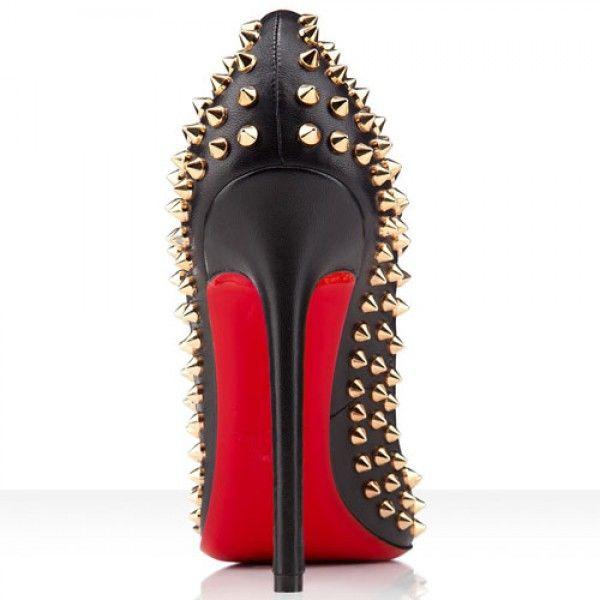 Pigalle Spikes 120mm Leder Pumps Schwarz  Gold1 Online-Verkauf sparen Sie bis zu 70% Rabatt, einfach einkaufen darüber hinaus versandkostenfrei.#shoes #womenstyle #heels #womenheels #womenshoes  #fashionheels #redheels #louboutin #louboutinheels #christanlouboutinshoes #louboutinworld
