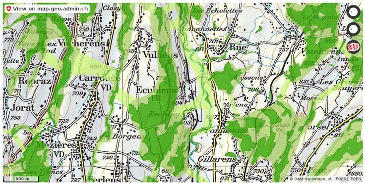 Ecublens (FR) Wald Nationalpark Urlaub http://ift.tt/2xr1JHF #dataviz #Cartography
