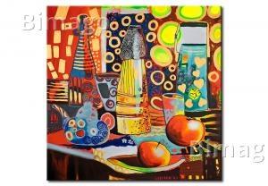 färgens kraft - klassiska tavlor, köks tavlor - Bimago