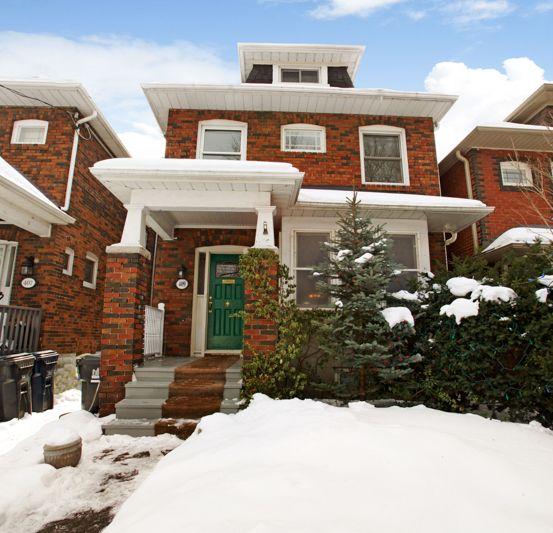 Detached 2-storey home in Toronto's Allenby neighbourhood