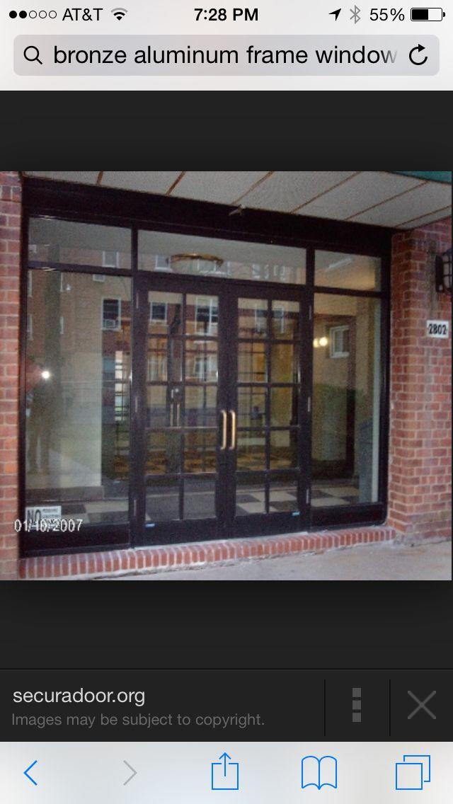 10 best storefront specialist images on Pinterest | Bronze, Entrance ...