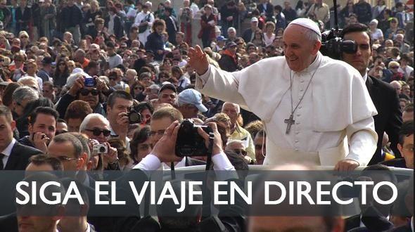 EN DIRECTO: El Papa reza en cementerio de soldados caídos durante la I Guerra Mundial