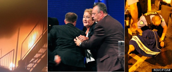 Quebec Election Shooting: Pauline Marois Rushed Off Stage During Victory Speech (VIDEO, PHOTOS)