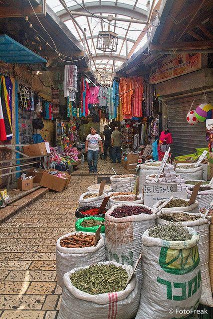 Akko Market . Israel
