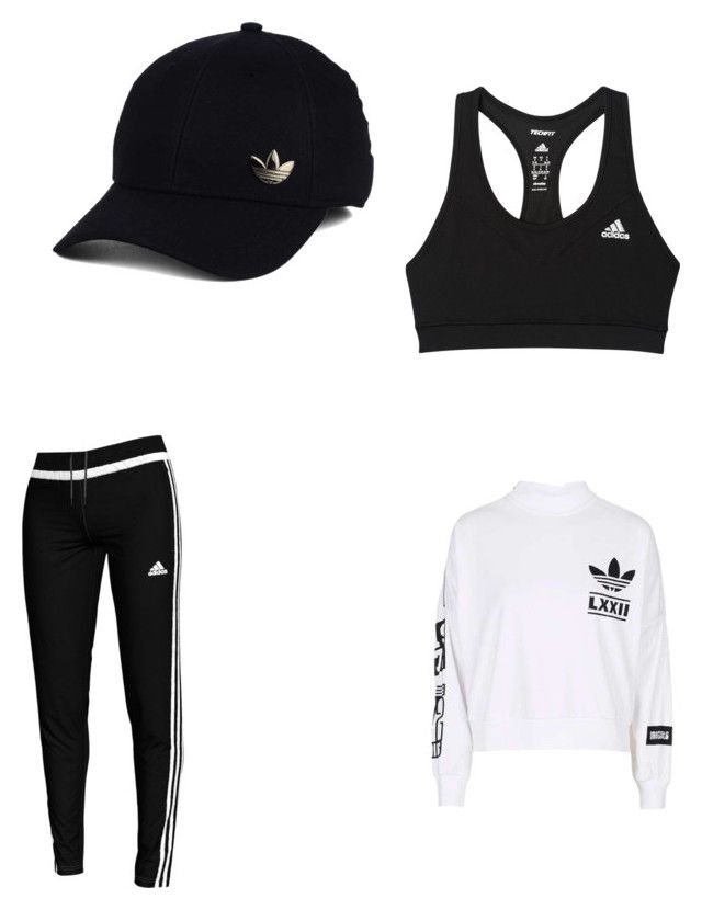 """Untitled #196"" by rekac on Polyvore featuring adidas"