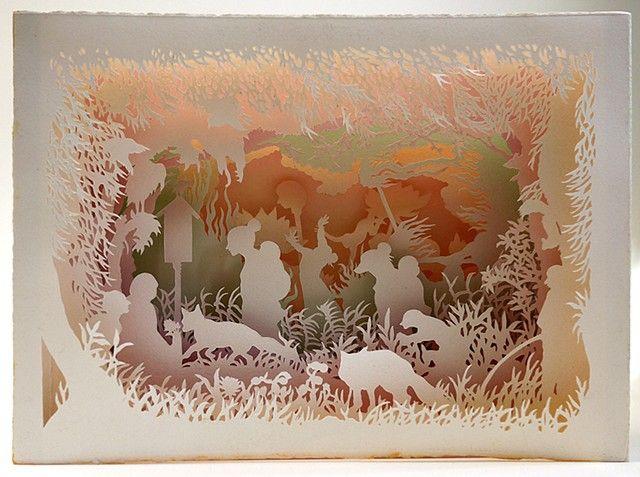 kyoko imazu, Tunnel books, fox folklore