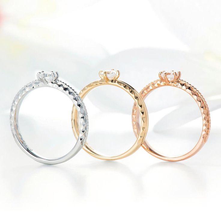 ハワイアンジュエリー リング 結婚指輪 婚約指輪 マリッジリング エンゲージリング エタニティリング ゴールド プラチナ ダイヤ 海 マカナ 記念日 プレゼント