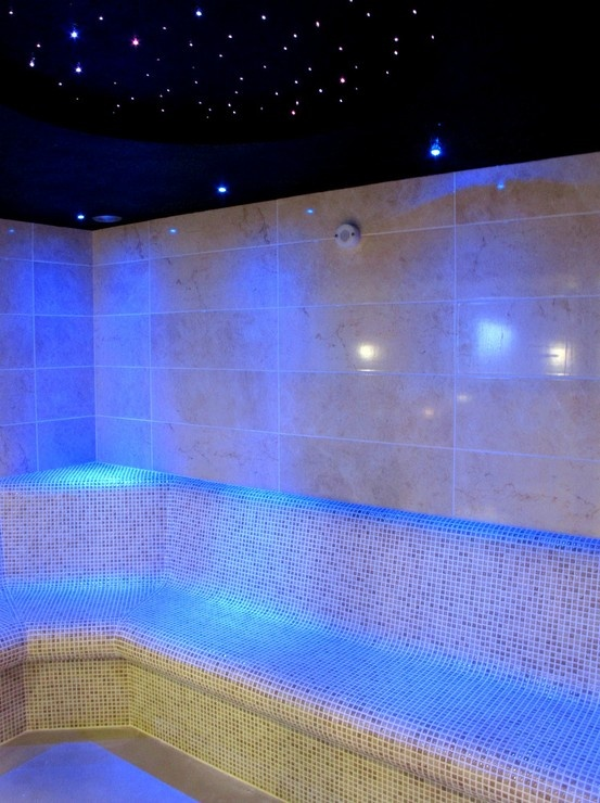 Steam Room at Sands Resort Hotel in Cornwall