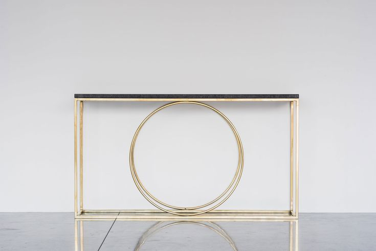Ring Console Brass