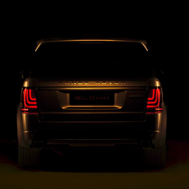 A visual that can, not only be seen by the eye, but felt by the heart.  #glohh #rangeroversport #rangerover #landrover #led #taillights