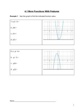 I designed these lessons to teach my students about Piece-wise functions (the first in a series of 7).  This first lesson focuses on using a graph of a function to evaluate a value, drawing a piece-wise graph given a story problem, writing a piece-wise function given a story problem, finding a value from a piece-wise function given context.